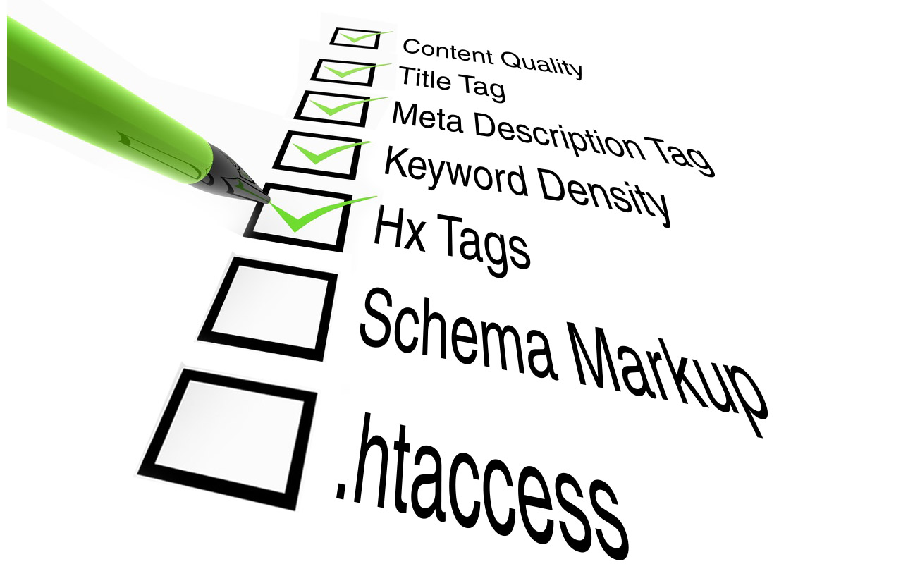 The 17 point On Page SEO Check list