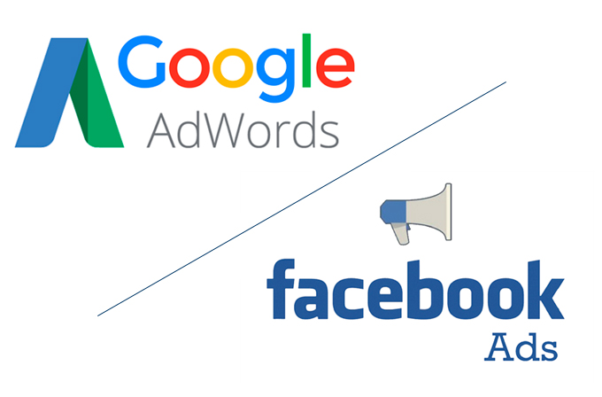 facebook vs google adwords