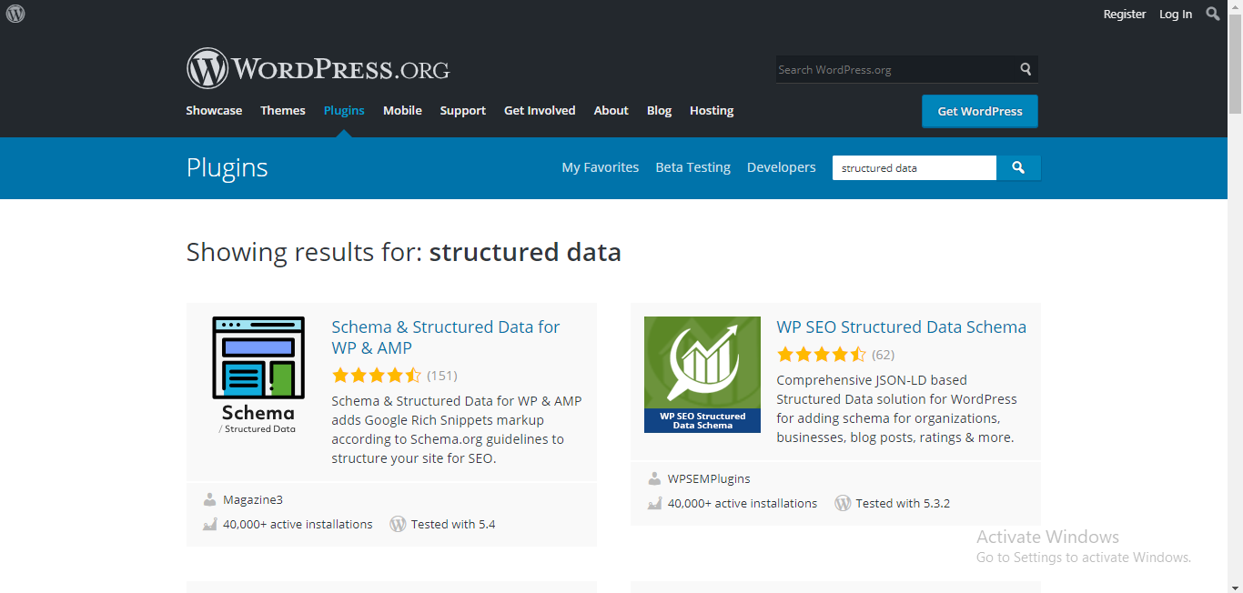 Structured Data WP tools