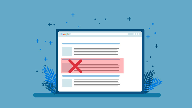 How To Remove URLs from Google Search Results?