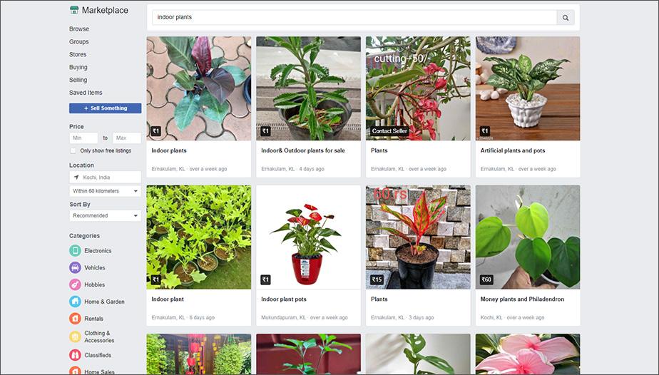Facebook Marketplace Example - Vividreal