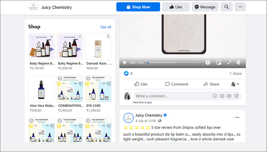 Facebook-Store-Example - Vividreal