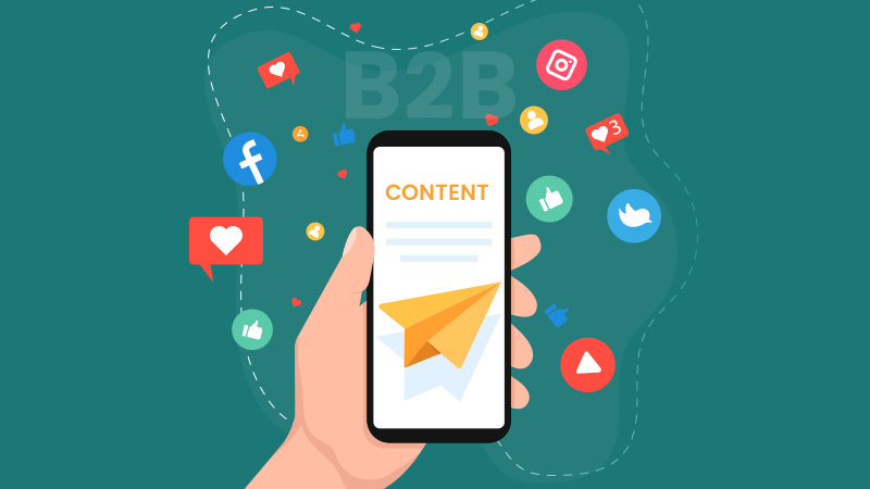 How to use content for effective B2B Social Selling